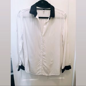 Uniqlo Button Down Blouse